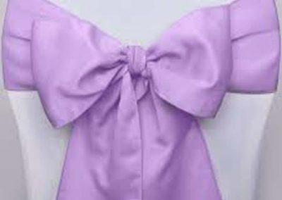Noeud Satin Violet