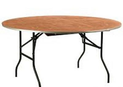 Table ronde 180 cm (10 pers)