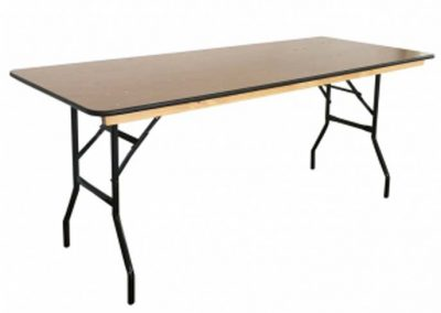 Table rectangulaire 180cmx76cm
