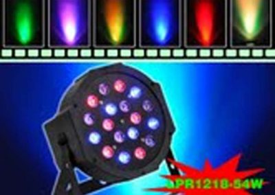 LIGHTS DJ Par leds 18x3W
