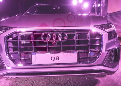 R2FETE EVENEMENTS lancement Audi Q8